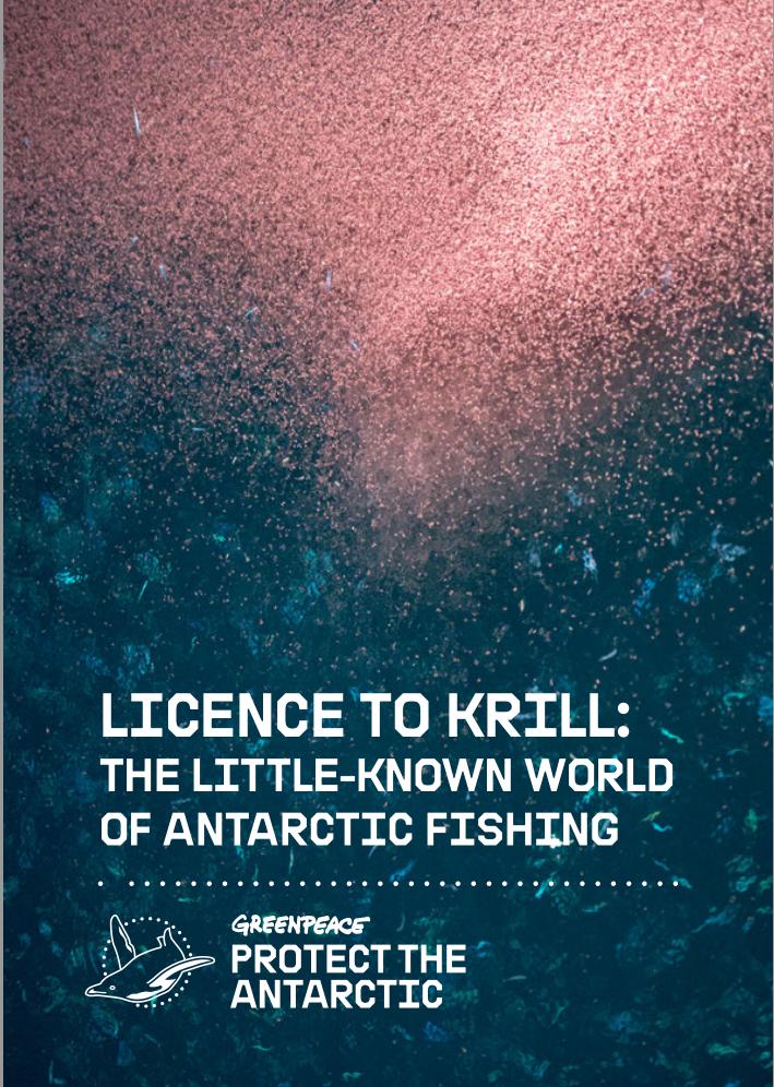 Greenpeace Antarctic Krill Report: License to Krill