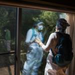 Radiation Survey of Mrs. Kanno's House in Shimo-Tsushima © Christian Åslund / Greenpeace