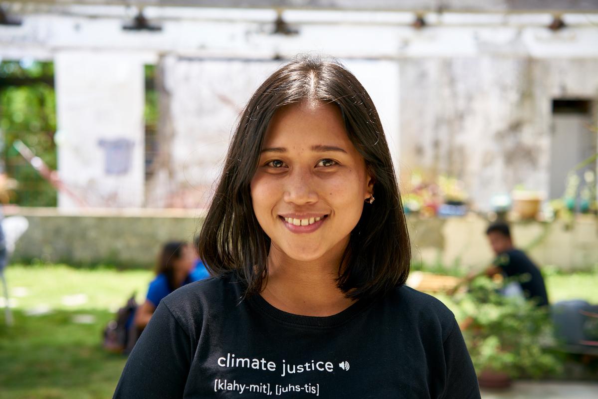 Joanna Sustento © Noel Guevara / Greenpeace