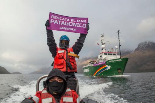 Arctic Sunrise Patagonia Ship Tour 2018 © Martín Katz / Greenpeace