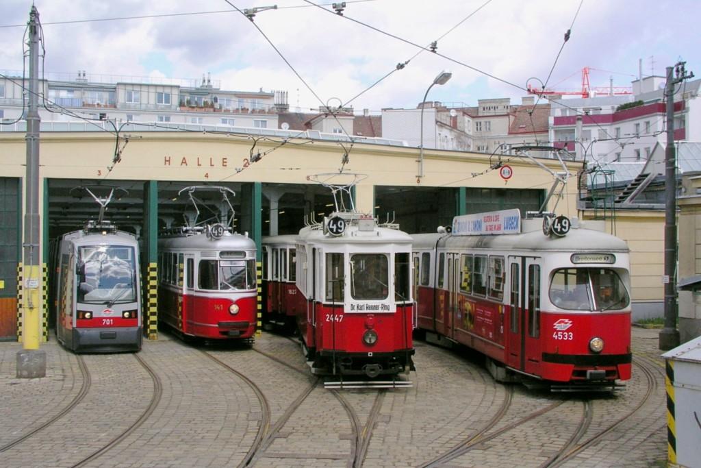 Trams in Vienna - Martin Ortner / Wikimedia