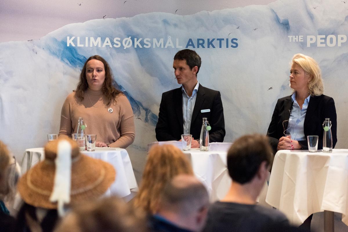 The People vs Arctic Oil: Historic Lawsuit against Arctic Oil in Oslo © Christian Åslund / Greenpeace