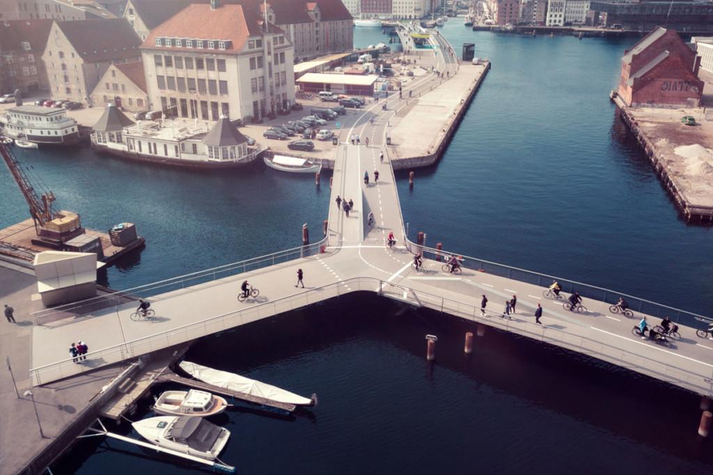 Copenhagen bike paths - Kevin McElvaney / Greenpeace
