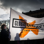 'Global Divestment Day' in Stockholm © Greenpeace / Denis Sinyakov