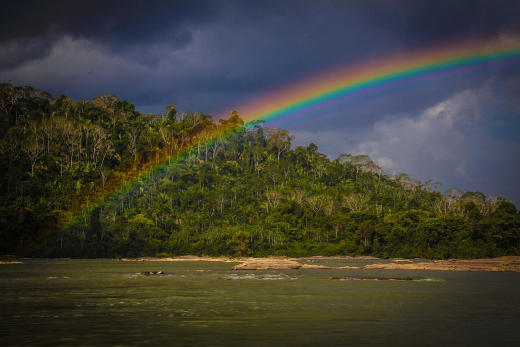 Tapajós River in the Amazon © Todd Southgate / Greenpeace