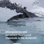 Microplastics in the Antarctic