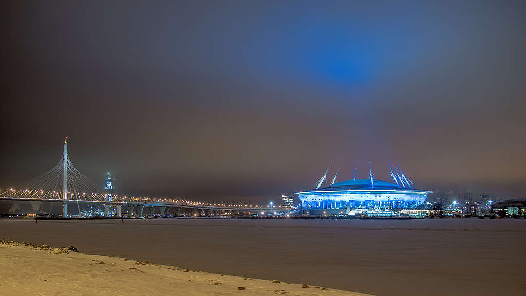 World Cup stadium in St. Petersburg © Daniil Drozdov