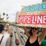 Dakota Access Pipeline Day of Action in Los Angeles © Jonathan Alcorn / Greenpeace