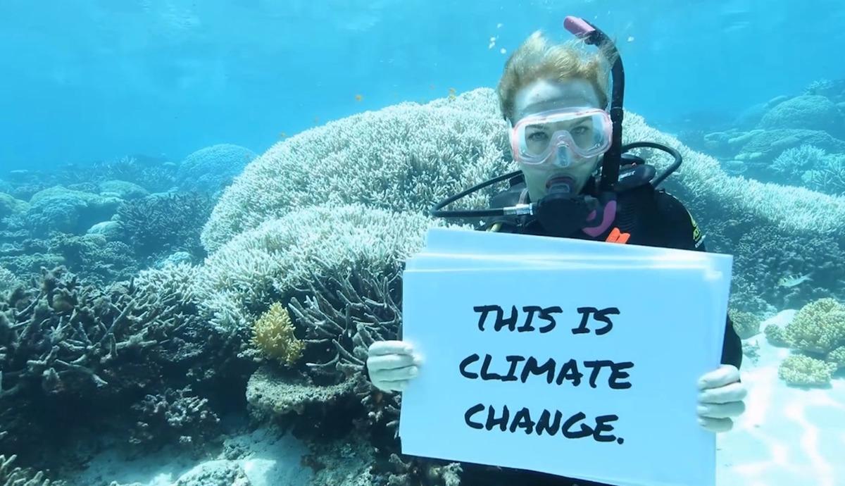 Great Barrier Reef Mass Coral Bleaching Event © Dean Miller / Greenpeace