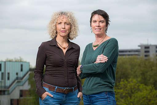 Jennifer Morgan and Bunny McDiarmid,Greenpeace International Executive Directors© Bas Beentjes / Greenpeace