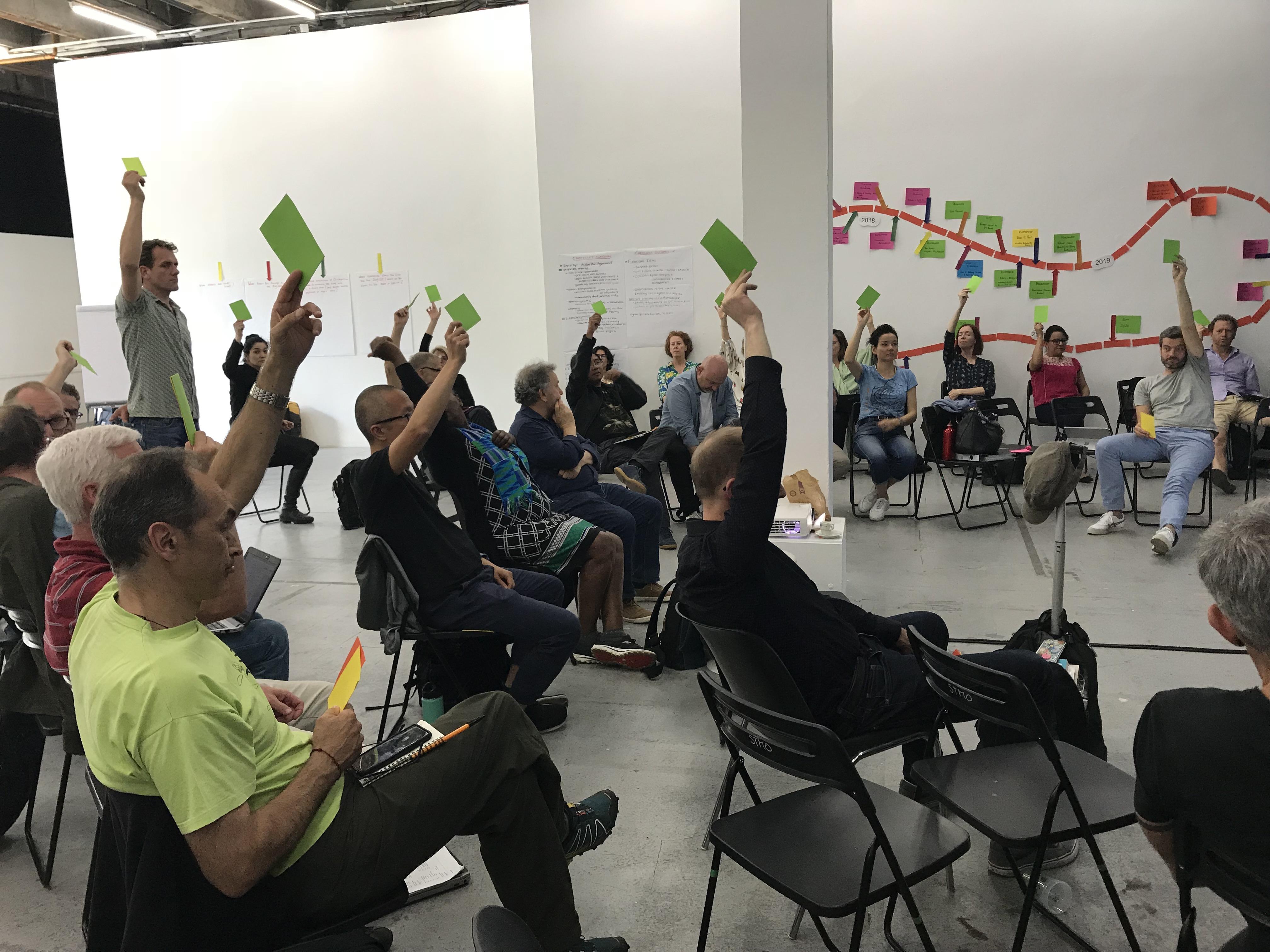 Greenpeace Executive Directors meeting, June 2018 © Greenpeace