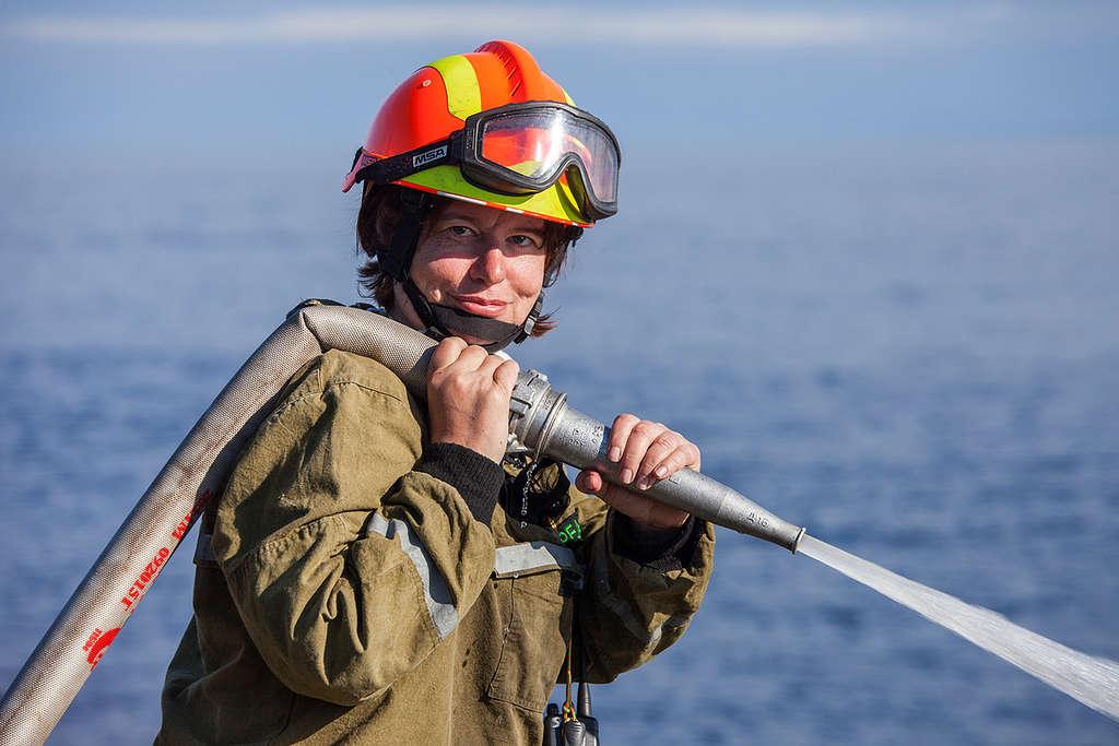 Firefighting and Training Camp on Ladoga Skerries © Maria Vasilieva / Greenpeace