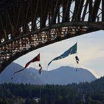 Bridge Blockade In Vancouver © Greenpeace