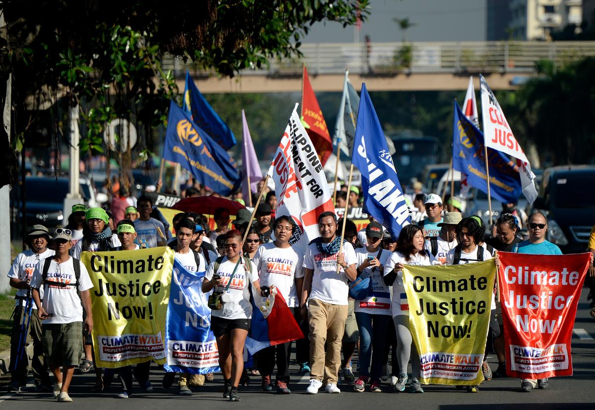 Climate Walk in Manila © Nathaniel Garcia / Greenpeace