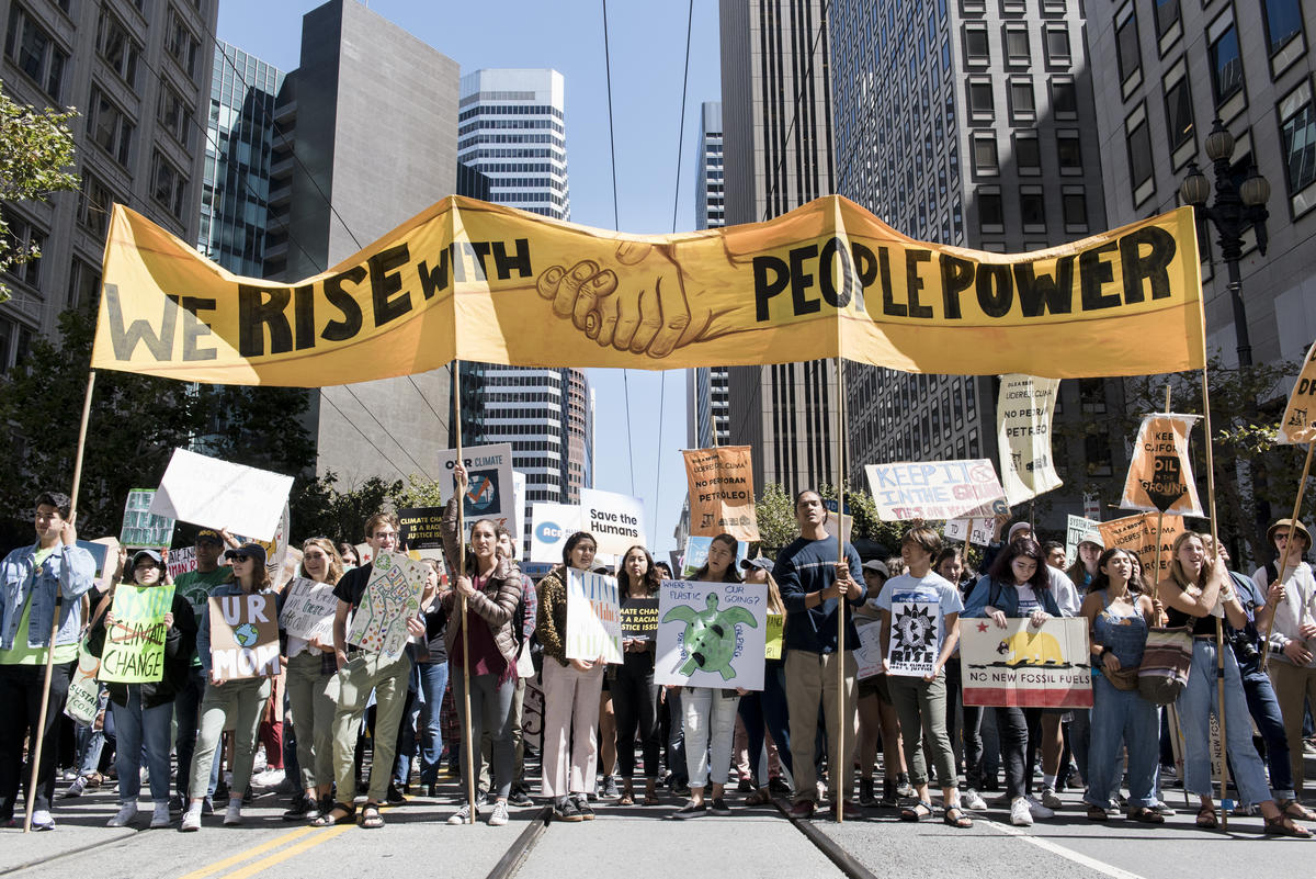 Rise for Climate, Jobs & Justice March in San Francisco © Michael Short / Greenpeace