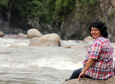 Indigenous Environmental Activist Berta Cáceres © Goldman Environmental Prize