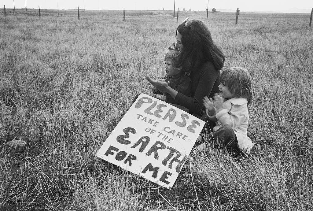 Rocky Flats Nuclear Weapons Campaign © Rex Weyler / Greenpeace