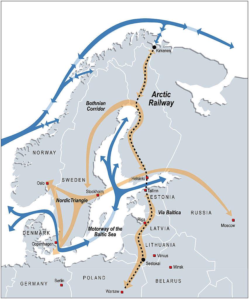 Arctic Railway © Arctic Corridor
