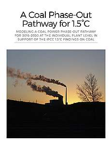 A Coal Phase-Out Pathway for 1.5°C