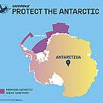 Weddell Sea sanctuary map © Greenpeace