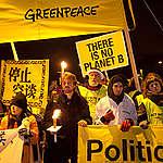 COP15 Global Day of Action in Copenhagen. © Kristian Buus