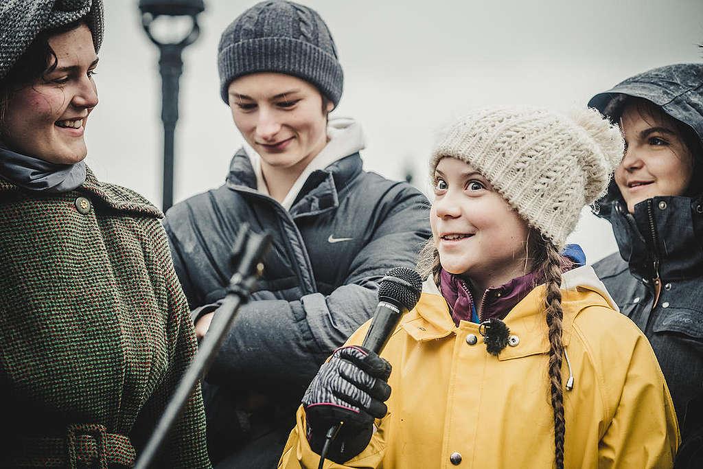 Greta Thunberg © Jana Eriksson/Greenpeace