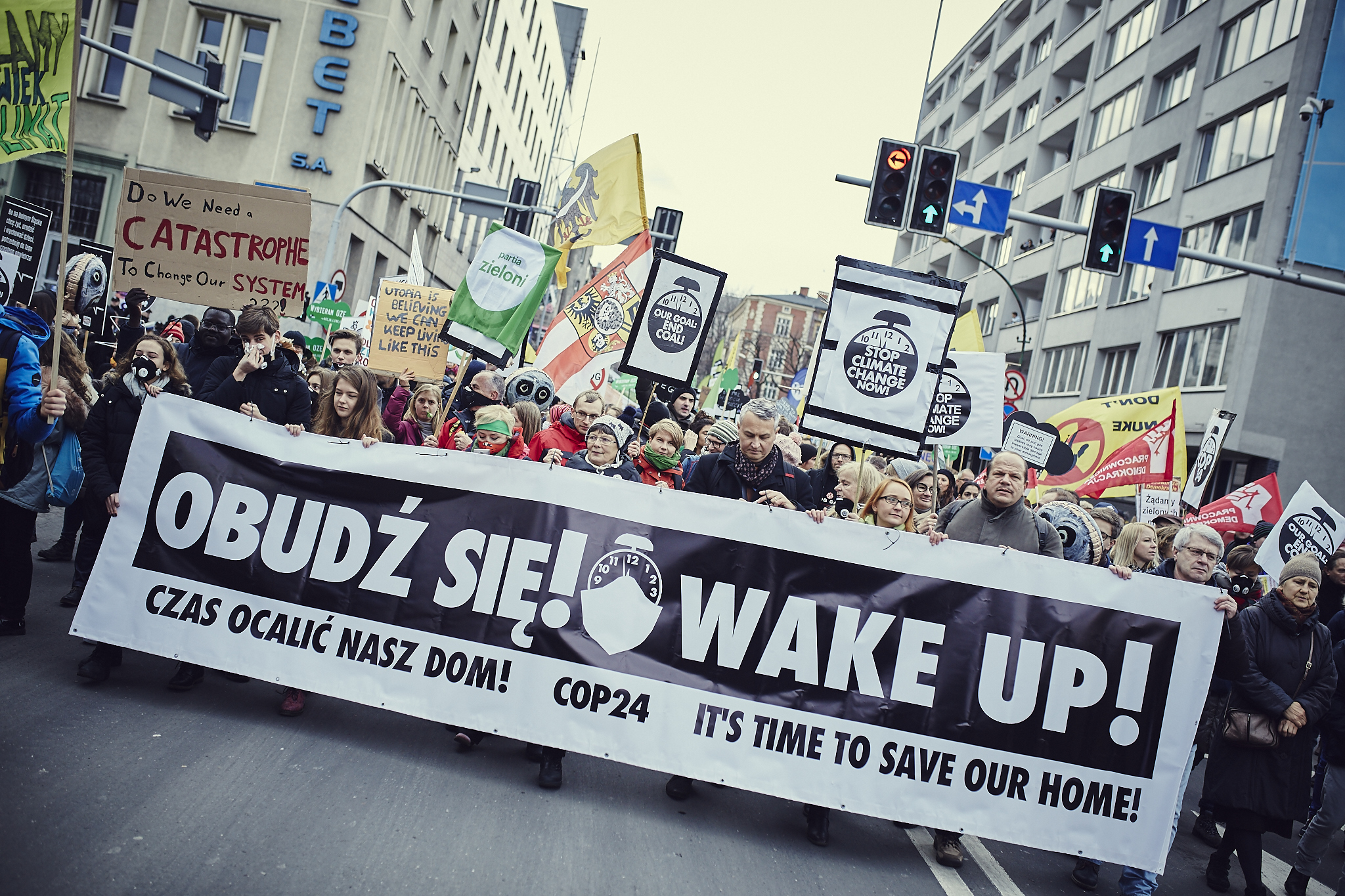 Climate March at COP24 in Poland © Greenpeace