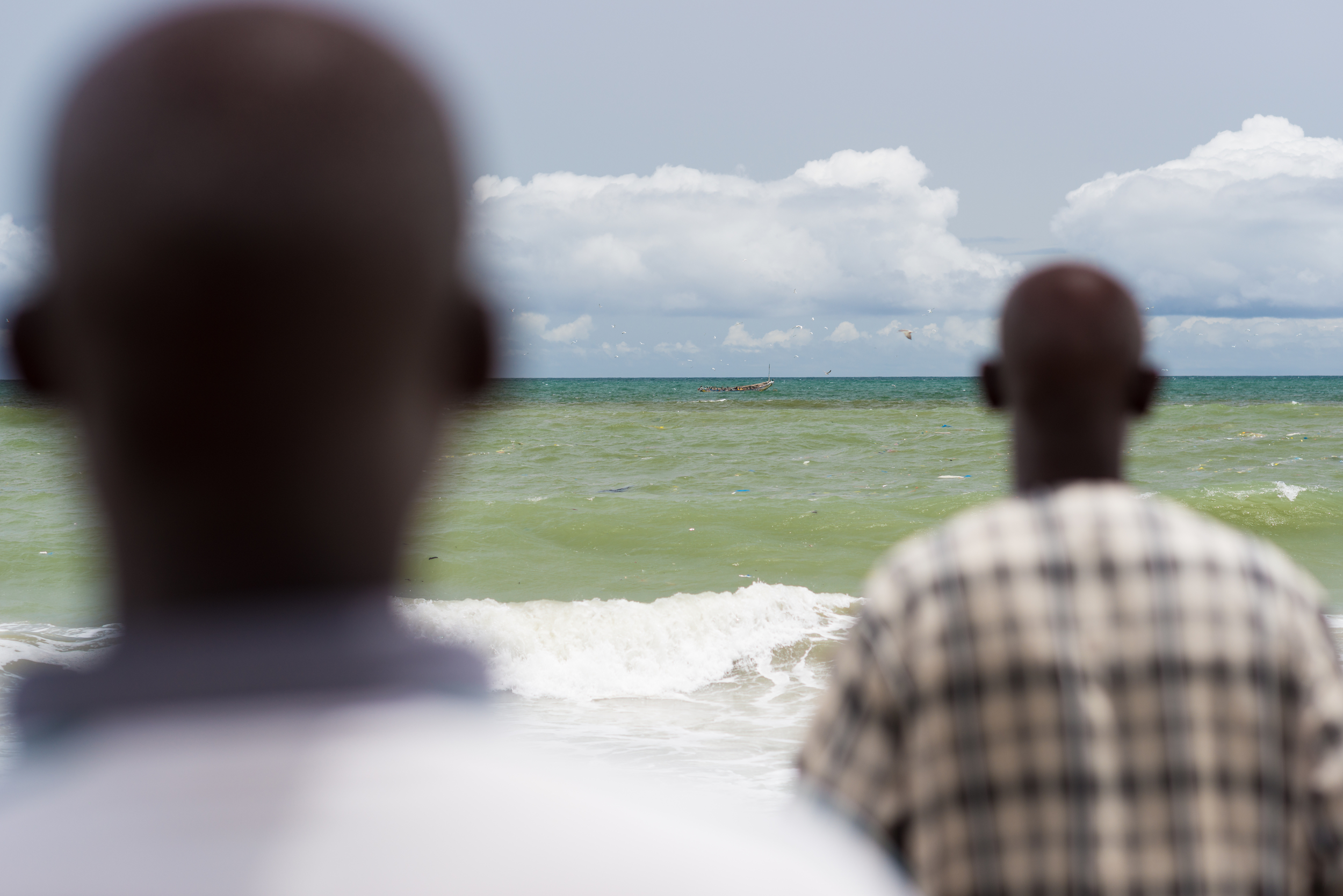 Fathers of Lost Fishermen in Senegal © Clément Tardif / Greenpeace