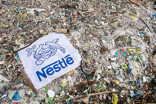 Freedom Island Waste Clean-up and Brand Audit in the Philippines © Biel Calderon / Greenpeace