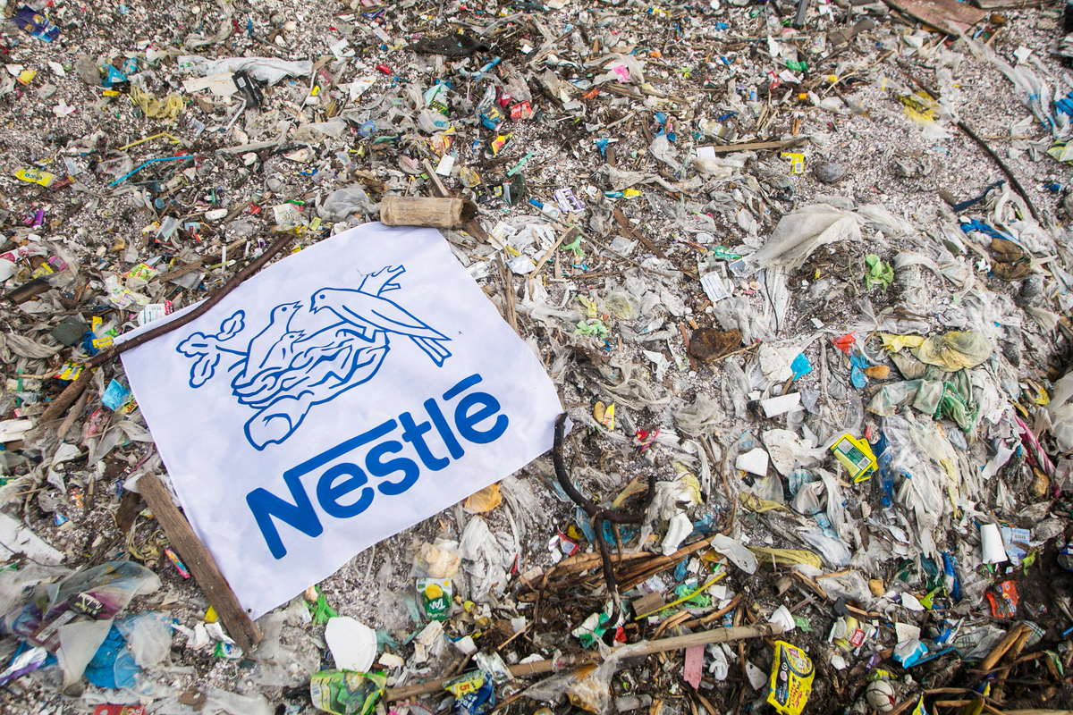 Nestle admits recycling is not enough to tackle plastic