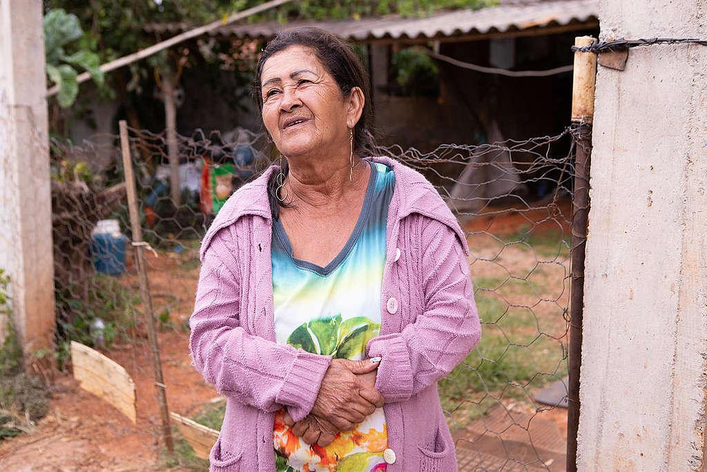 Dona Irani, a survivor of the disaster in Brumadinho © Nilmar Lage / Greenpeace