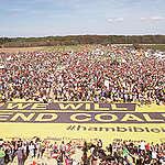 Aerials of Demonstration for Climate Protection and Hambach ForestLuftaufnahmen der Demonstration fuer Klimaschutz und den Hambacher Wald © Greenpeace
