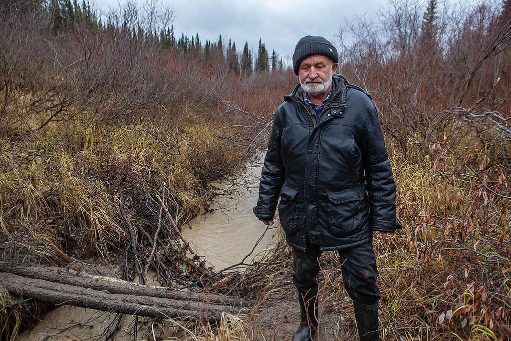 Valery Bratenkov © Igor Podgorny / Greenpeace