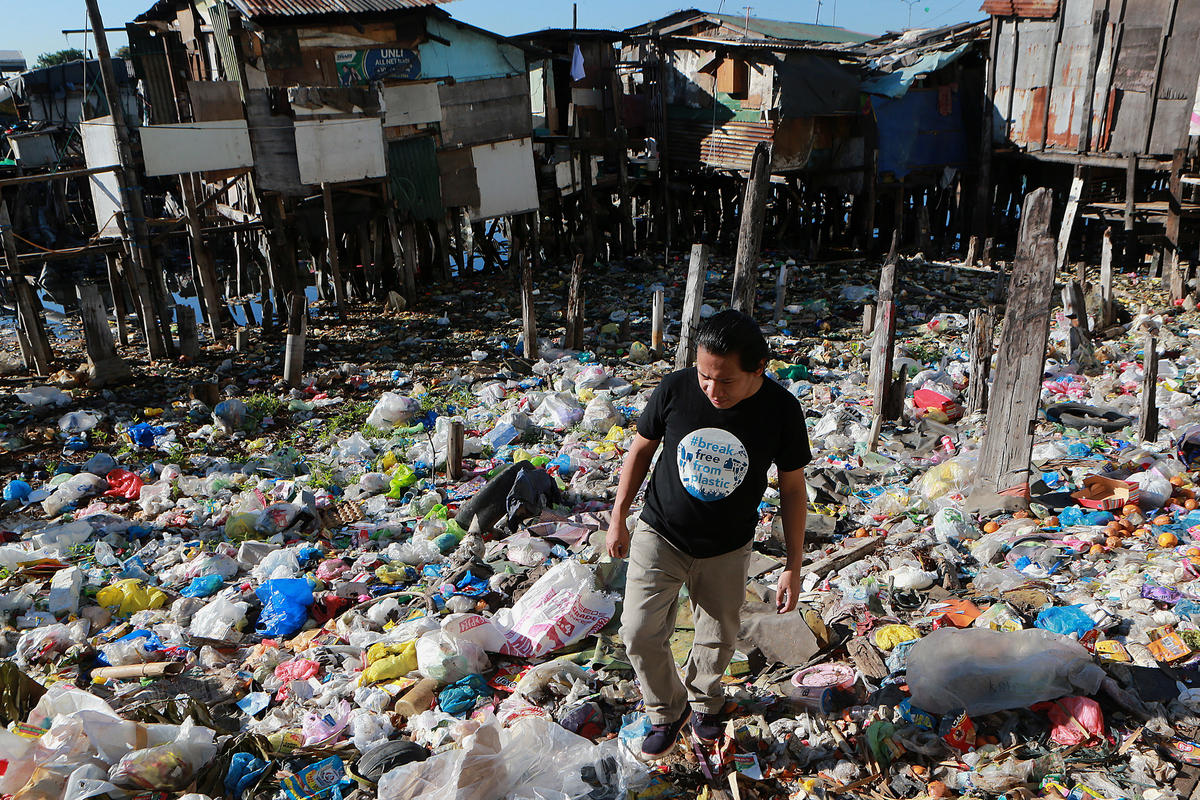 Froilan Grate in Navotas. © Greenpeace