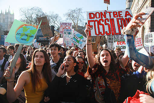 Youth Strike 4 Climate, London. © Kristian Buus