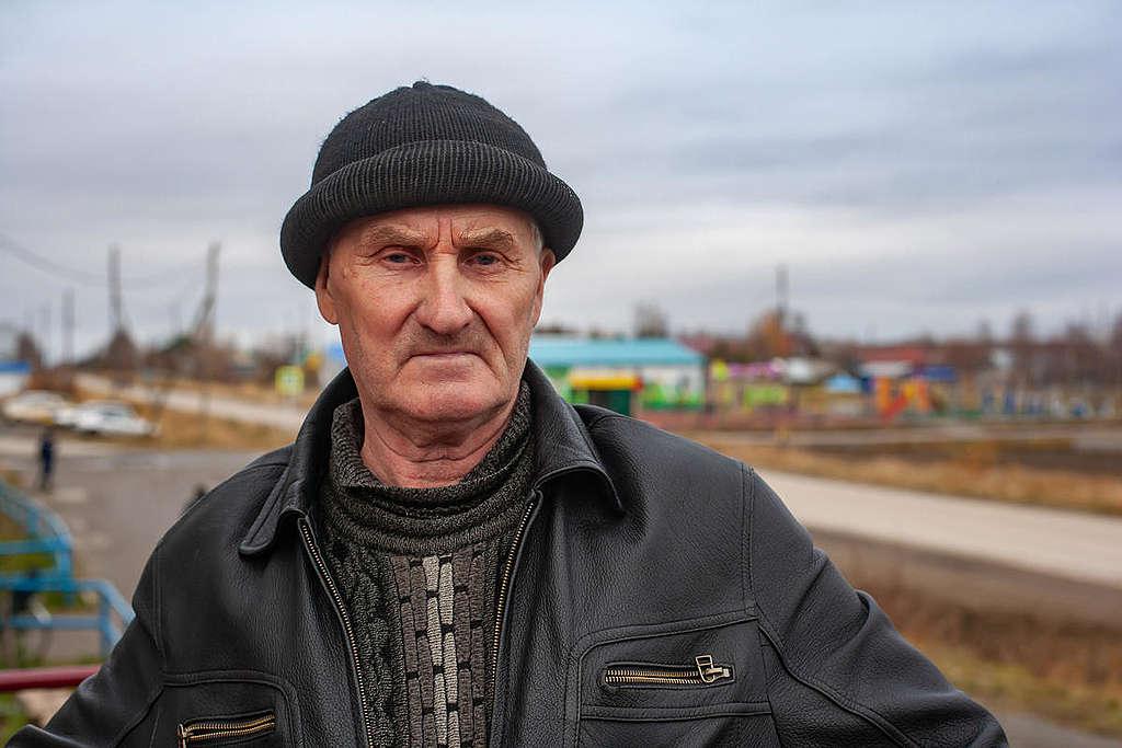 Valeriy Popov © Igor Podgorny / Greenpeace