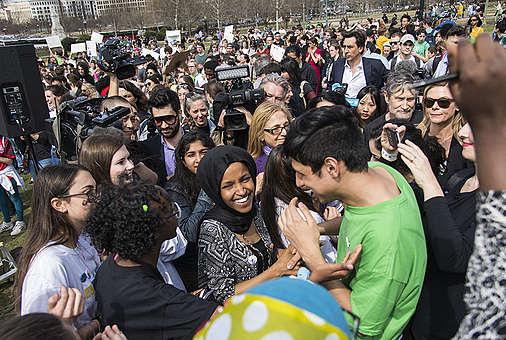 Fridays for Future Student Demonstration in Washington DC © Livia Ferguson / Greenpeace