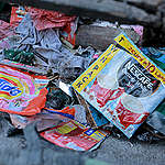 Waste Documentation in Navotas, Manila. © Greenpeace