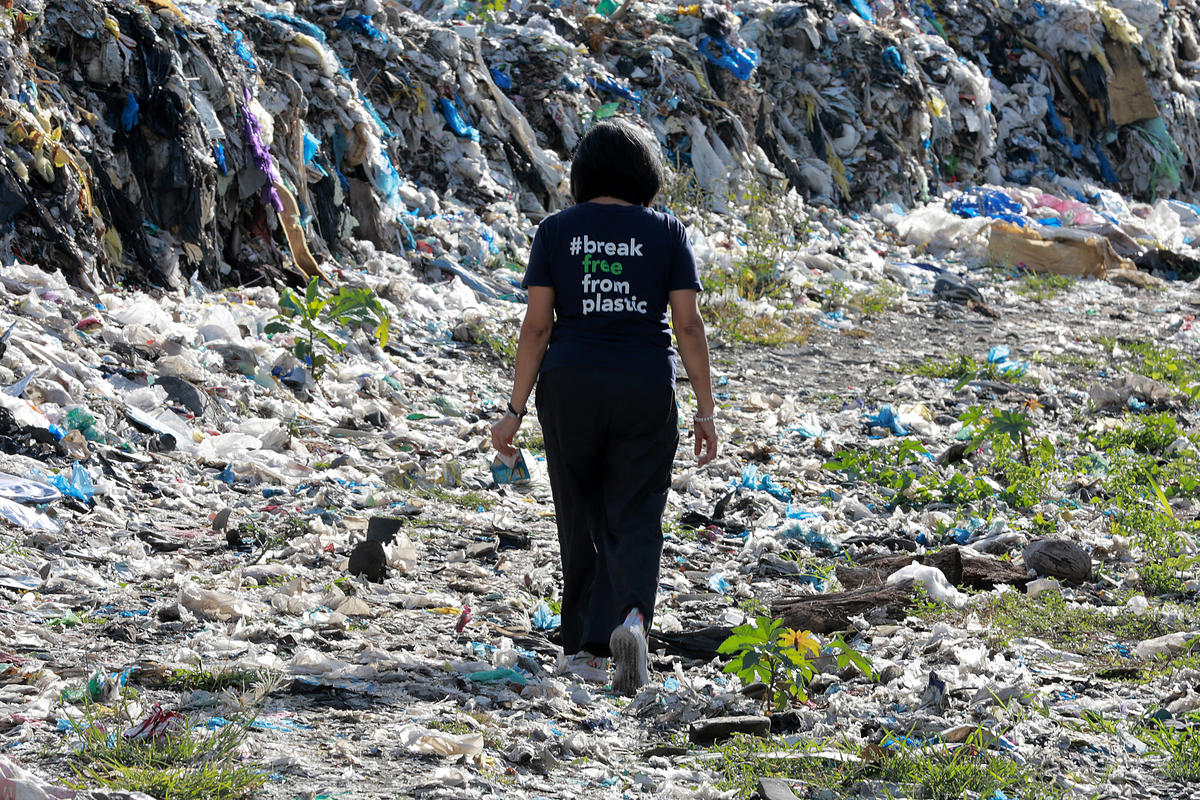 Plastic Waste Dump in Dumaguete, Philippines. © Anonymous