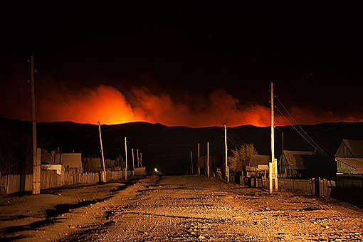 Wildfires in Southeast Siberia © Maria Vasileva / Greenpeace
