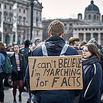 Fridays for Future Student Demonstration in Vienna. © Mitja  Kobal / Greenpeace