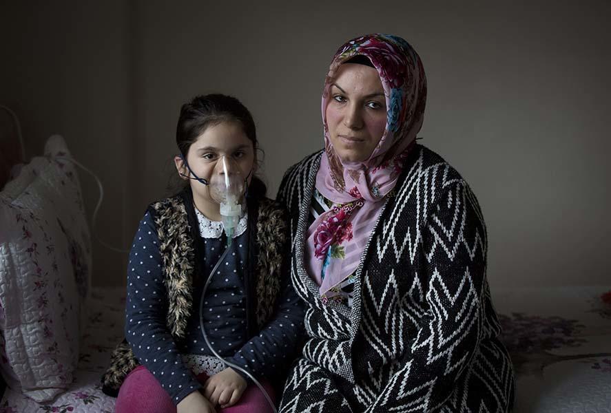 Selma Kılıç's Story in Turkey. © Greenpeace