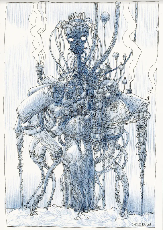 Chris Riddell's second artwork