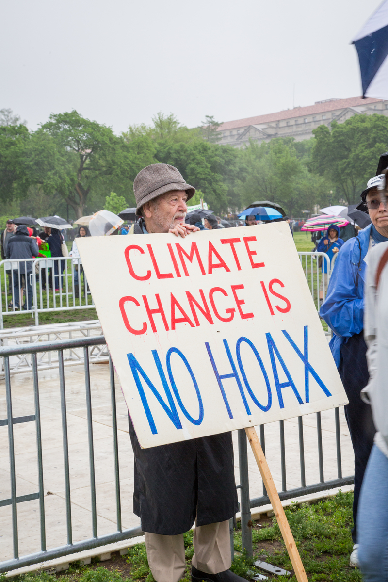 March For Science 2017 in Washington D.C. © Amanda J. Mason / Greenpeace