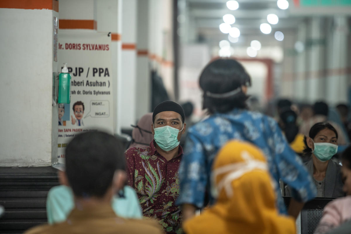 Forest Fires Haze Victims in Central Kalimantan. © Jurnasyanto Sukarno / Greenpeace