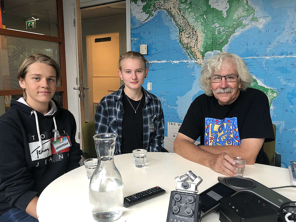 Andreas Magnusson, Ell Ottosson Jarl and Rex Weyler,
