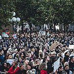 Global Climate Strike in Stockholm, Sweden. © Jana Eriksson / Greenpeace