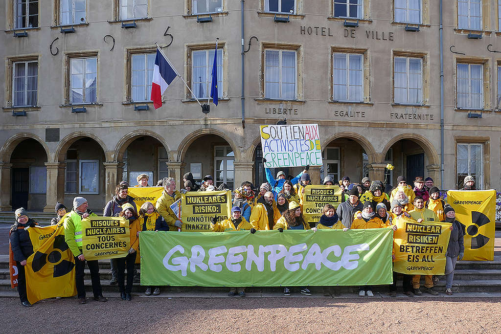 Mobilization of support in Thionville