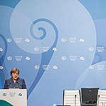 Inside Conference Centre at COP23 in Bonn. © Bernd Lauter / Greenpeace