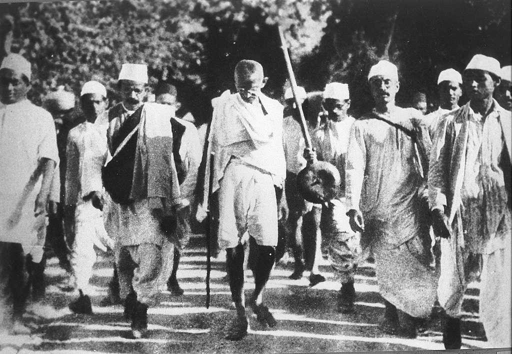 Gandhi pada tahun 1920